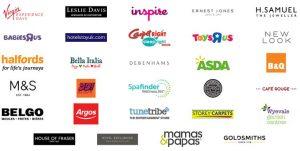 Engage Rewards retailers