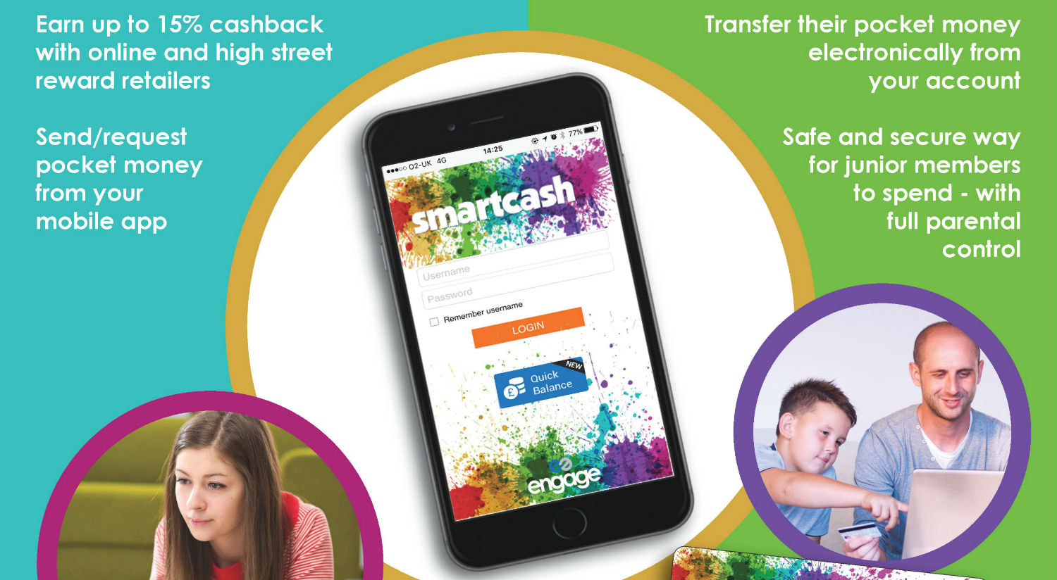 Smartcash junior account from Contis