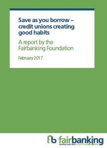 Save as you Borrow Fairbanking report